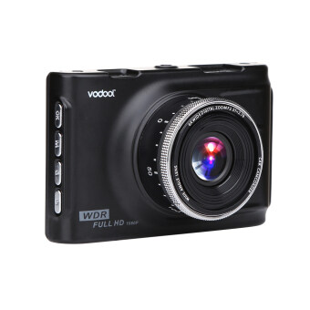 Harga VODOOL RH-Q6 Full Metal Case Tachograph Car Camera 3.0 Inch with Full HD 1080P 140 Degree 17MM Camera lens with H42 sensor Maxium Support TF Card 32GB Car DVR - intl