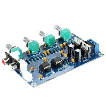 Harga NE5532 Stereo Pre-amp Preamplifier Tone Board Audio 4 Channels Amplifier Board - intl