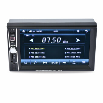 "Harga 2DIN 6.5"" HD In Dash Car TouchScreen Bluetooth Stereo MP3 MP5 - intl"