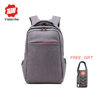 Harga Tigernu Popular 15inch laptop Backpack For 12-15.6 inches Notebook Multifunction Travel Backpack T-B3130(light grey)