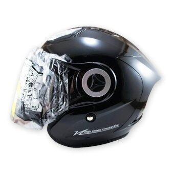 INDEX หมวกกันน๊อค TITAN-7 (สีดำด้าน)