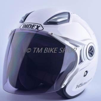 Index หมวกกันน็อค รุ่น Titan 7 (สีขาว)