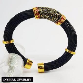 ประกาศขาย Inspire Jewelry กำไลหางช้าง สีดำ ตัวเรือน ชุบทอง24K ลงยาคุณภาพสวยหรู เป็นเครื่องประดับมงคล