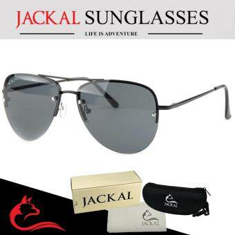 JACKAL แว่นตากันแดด รุ่น SHIPMASTER II JS176 (Black/Smoke Lens)