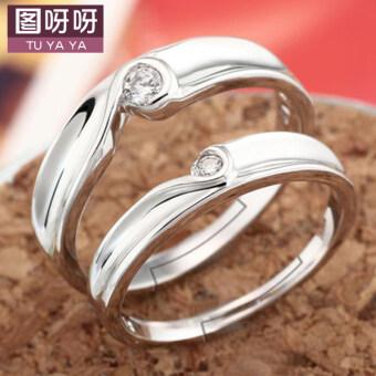 Jianyue พฤษภาคมเกาหลีแต่งงานแหวนคู่แหวน