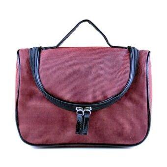 JinGle Mens WoJinGle Mens Hanging Travel Toiletry Kit Wash Bag\nShaving Case Cosmetic Bag - intl