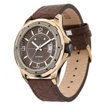 ซื้อ/ขาย Julius Homme นาฬิกาสำหรับผู้ชาย สีน้ำตาลเข้ม สายหนัง รุ่น JAH-006