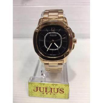 """2561 นาฬิกาแฟชั่น JULIUS """"J010"""" P and P Fashion รับประกันสินค้าจากศูนย์,พร้อมกล่อง"""