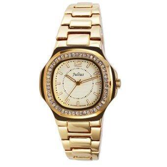 ซื้อ/ขาย Julius นาฬิกาผู้หญิง สีทอง สแตนเลส รุ่น JA-711