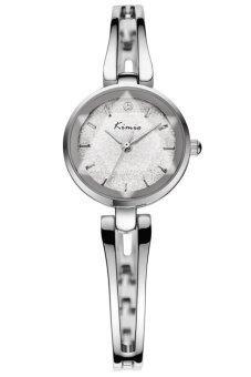 ซื้อ/ขาย Kimio นาฬิกาข้อมือผู้หญิง สีเงิน/ขาว สายสแตนเลส รุ่น KW6033