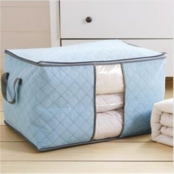 Large Capacity Storage Bags Clothes Laundry Bedding Blanket ToysPouch Organizer - intl