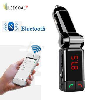 leegoalGlamor LCD Bluetooth Car Set FM Transmitter MP3 USB Charger Handsfree For IPhone
