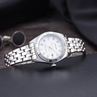 LONGBO Women Waterproof Luxury Stainless Steel Strap Business Watches Quartz Wrist Watch