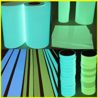 Luminous Tape Self-adhesive Egress Warning Tape Sticker Stage HomeCar Decor - intl