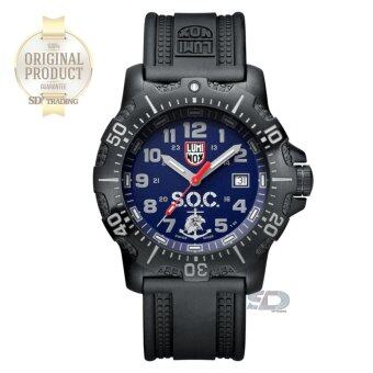 LUMINOX ประกันศูนย์ 2ปี Limited Edition (SPEC OPS CHALLENGE 4220SERIES) 4223.SOC.SET - Stainless Steel Black PVD Navy/Gray