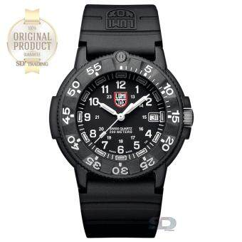 "2561 LUMINOX ""ประกันศูนย์ 2ปี"" Man watch (ORIGINAL NAVY SEAL 3000 SERIES) XS.3001 - Black/White"