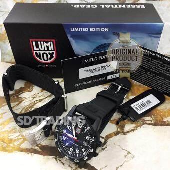 LUMINOX ประกันศูนย์ 2ปี Man watch Sea Turtle Limited Edition (LEATHERBACK SEA TURTLE GIANT 0320 SERIES) รุ่น XS.0321.ST.N - Black/White/Violet