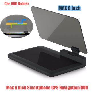 Mastersat 6 inch wireless hud H6 mobile phone holder with functionnavigation head up display for car