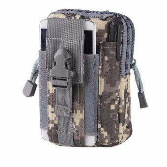 Men's Waist Bag Outdoor Sports Tactical Coin Purse Waist FannyPacks Waterproof Pouch Bag(ACU) - intl