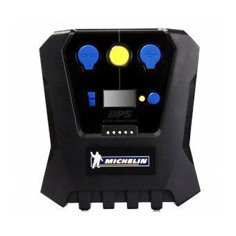 Michelin Digital Power Source เครื่องปั๊มลมอเนกประสงค์ชนิดไฟฟ้า รุ่น Pre-Set 12266 (สีดำ)