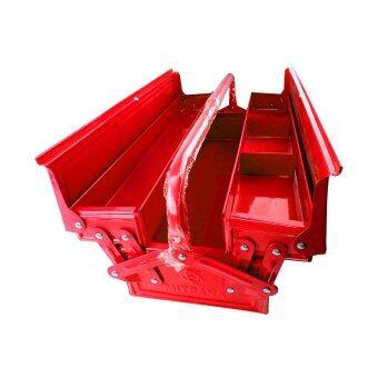 จัดโปรโมชั่น MITSANA กล่องใส่เครื่องมือ MODEL-04 21 นิ้ว 2 ชั้น (สีแดง)