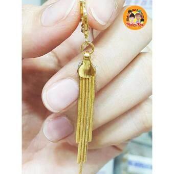 ขายด่วน MK:ต่างหูทองไมครอน แบบห้อย ( Gold Micron )