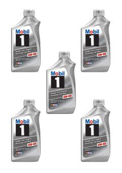 ลดราคา Mobil 1™ 5W-50 advanced full synthetic motor oils Made in USAสังเคราะห์แท้100%