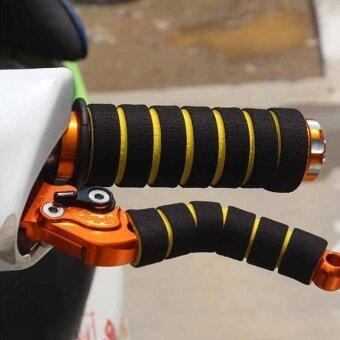 Motorcycle Electric Bike Bicycle refit accessories hand Set sponge- intl - 2