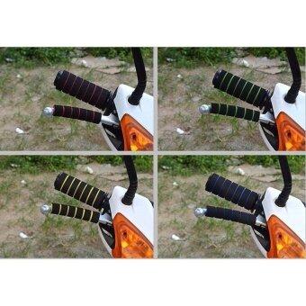 Motorcycle Electric Bike Bicycle refit accessories hand Set sponge- intl - 3