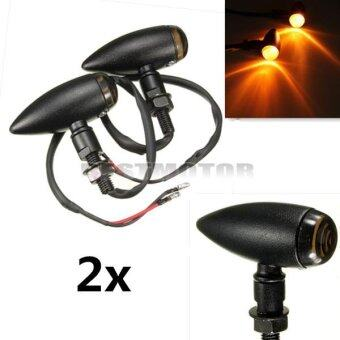 Motorcycle Turn signal For Harley Black ( 2 Pcs ) (Intl) - intl