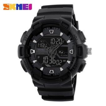 New Arrivals SKMEI Shock Sports Watch นาฬิกาข้อมือ es Men Chronograph Digital LED Watch นาฬิกาข้อมือ 50M Water Resistant Dual Display WristWatch นาฬิกาข้อมือ es 1189