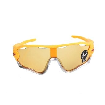 New Explosion Proof Sunglasses Motorcycle Bike Bicycles RideGoggles Glasses - intl รูบที่ 1
