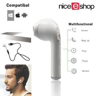NiceE Shop แฟชั่นใหม่บลูทูธ 4.1 หูฟังไร้สายมินิหูฟังหูฟังหูฟังหูฟัง (หูซ้ายเดี่ยว)