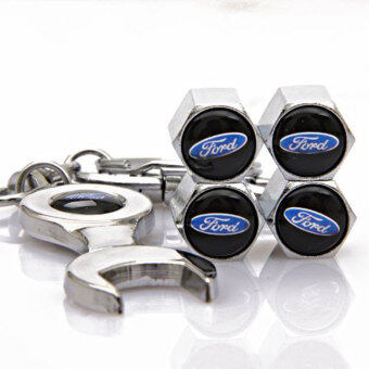 Harga niceEshop Tire Valve Stem Cap Set with Wrench