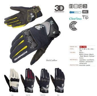 Off-road Motorcycle Riding Gloves Knight / Motorcycle Racing BikeOutdoor Gloves GK-162 (black Silver) - intl