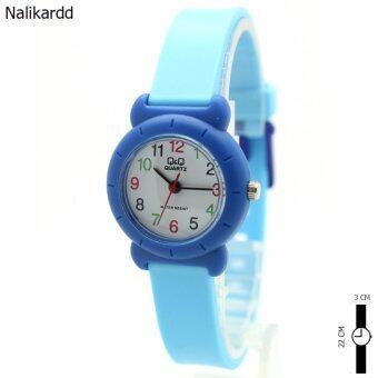 ประเทศไทย OMQ Watch นาฬิกาข้อมือผู้หญิงและเด็ก สายยาง ระบบเข็ม OMQ-3