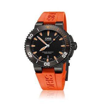 ราคา Oris Aquis Date The Seas of Time 733 7653 4259-07 4 26 32GEB