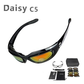 Outdoor Daisy C5 Ess Goggles Army Fans Goggles BulletproofWindproof Mirror Tactical Mirror - intl