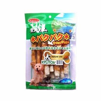 เปรียบเทียบราคา PakuPaku Natural Line Chicken Warpped Crunchy ปากุ ปากุไก่ห่อครั้นชี่โรลแท่ง