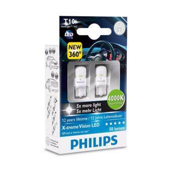 Philips T10 X-treme Vision LED 4000K
