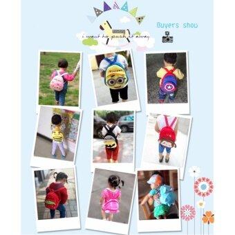 Poonpoon (0-3 ขวบ) กระเป๋าเป้เด็ก ลายนกฮูก The Heirs - 2