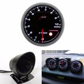 Racetech เกจวัด เกจ์วัดรอบ รอบเครื่องยนต์ รถยนต์ มอเตอร์ไซค์มอเตอร์ไซค์ บิ๊กไบค์ RPM 60 mm