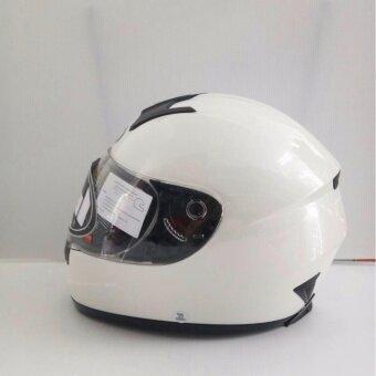 สนใจซื้อ Real หมวกกันน็อคเต็มใบ Real รุ่น Tornado สีขาว