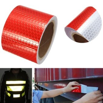 Reflective Warning Conspicuity Roll Adhesive Tape Film Car VinylSticker 3M - intl