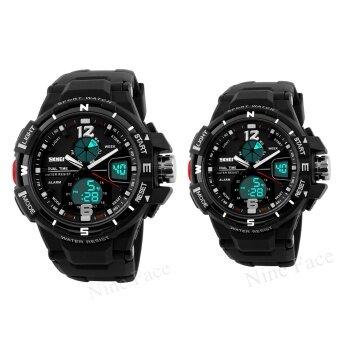 S SPORT นาฬิกาข้อมือคู่ - 9292-3200 (Pure Black)