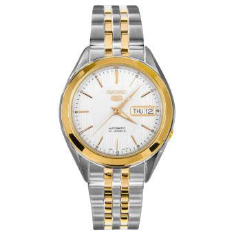2561 Seiko 5 Automatic SNKL24K1 - White/Gold