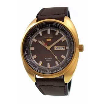 2561 SEIKO 5 Sports Automatic Turtle Limited Edition Gold Watch SRPB74K1