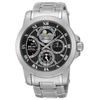 Harga SEIKO นาฬิกา Premier Kinetic Direct Drive Moon Phase SRX013P1
