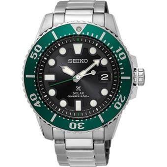 ซื้อ/ขาย Seiko Prospex Solar Diver s Limited Edition SNE451P1 (Black/Green) (Silver)