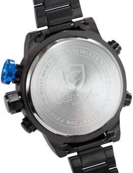 Shark นาฬิกาข้อมือ GULPERSHARK 1st COLLECTION BLACK BLUE - 5